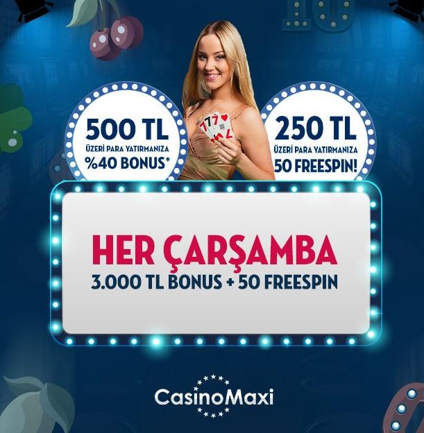 Bonus Rabu CasinoMaxi